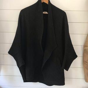 Madewell Sweaters - Madewell knit cardigan sweater black